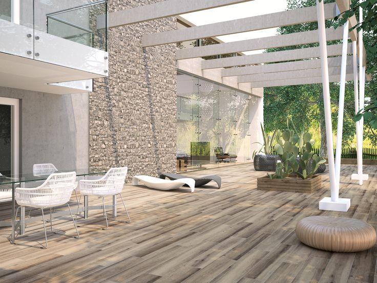 M s de 1000 ideas sobre pisos imitacion madera en - Pavimento terraza exterior ...