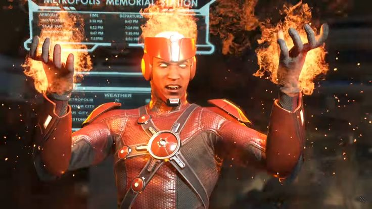 Le roster d'Injustice 2 s'étoffe de semaine en semaine. Cette fois-ci, c'est Firestorm qui vient enflammer les héros du Fighting Game de NetherRealm. Firestorm enflamme Injustice 2 Bien connu des fans des séries Legends of Tomorrow et The Flash, #Injustice #Injustice 2 #NetherRealm Studios #PS4 #Warner Bros Games #Xbox One