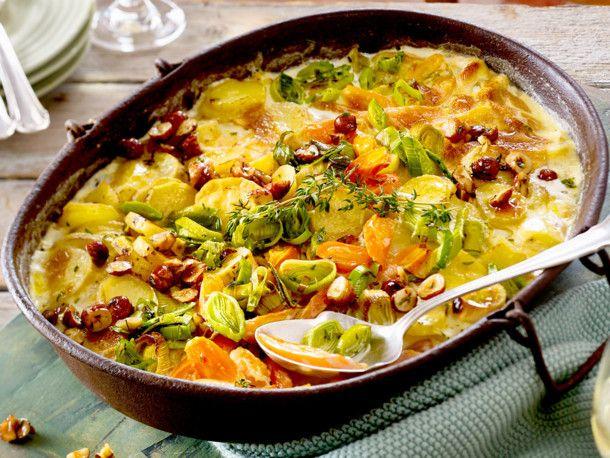 Unser beliebtes Rezept für XXL-Gemüsegratin und mehr als 55.000 weitere kostenlose Rezepte auf LECKER.de.