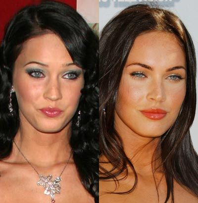 Megan Fox - plastic surgery much?! THANK GOD there isnt a woman as beautiful as her naturally!!
