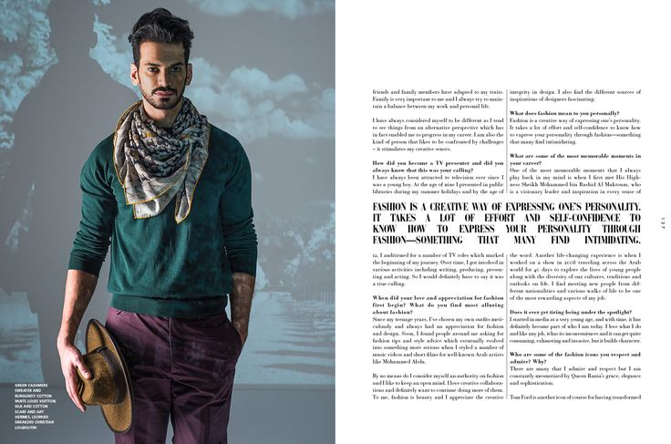 From my shoot for L'officiel homme Middle East