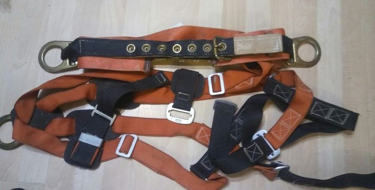Klein Tools Climbing Belt & gear Model 87812 large 40 -48 1998 buy NOW @eBay HURRY