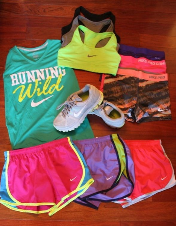 Volleyball outfits. Love Nike pro spandex!!!
