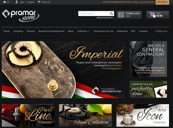 Pramar Stone e-commerce is now online! Take a look