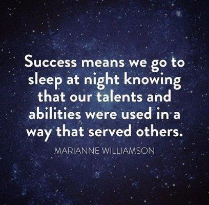 true meaning of success Don't let other people determine how you think about success define it for yourself.