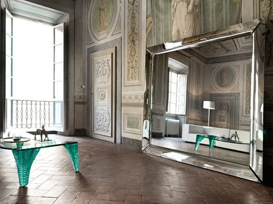 Extra Large Mirrors: large floor mirror by Philippe Starck | Captivatist