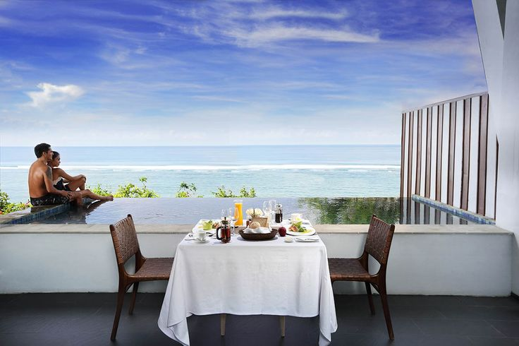 SAMABE - Breakfast at Terrace of One Bedroom Ocean Pool Suite