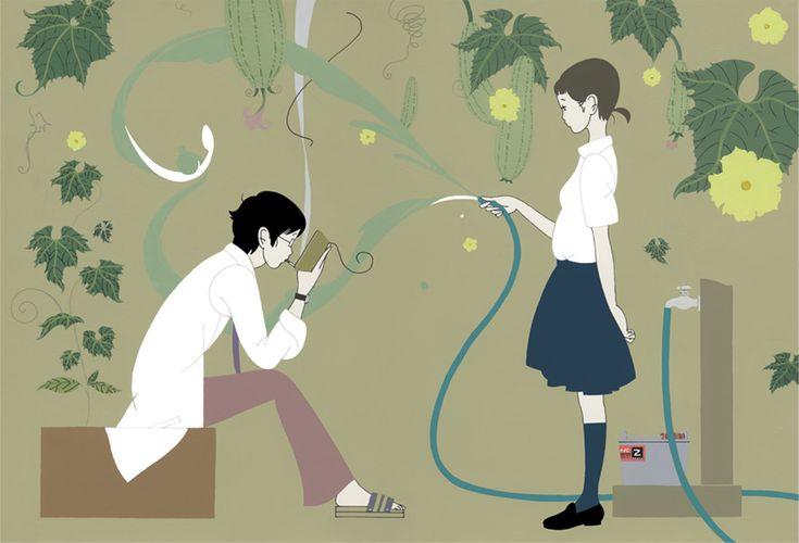 illustrated by Yusuke NAKAMURA