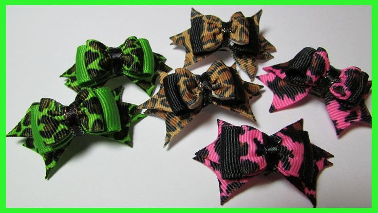 Dog Hair Bows  ...  - Learn how to make spiked hair bows for your dog on a alligator clip. Free tutorial video - Do it yourself!I hope this tutorial is helping you. If you have any questions. Diy, How, Make, Hair, Dog,