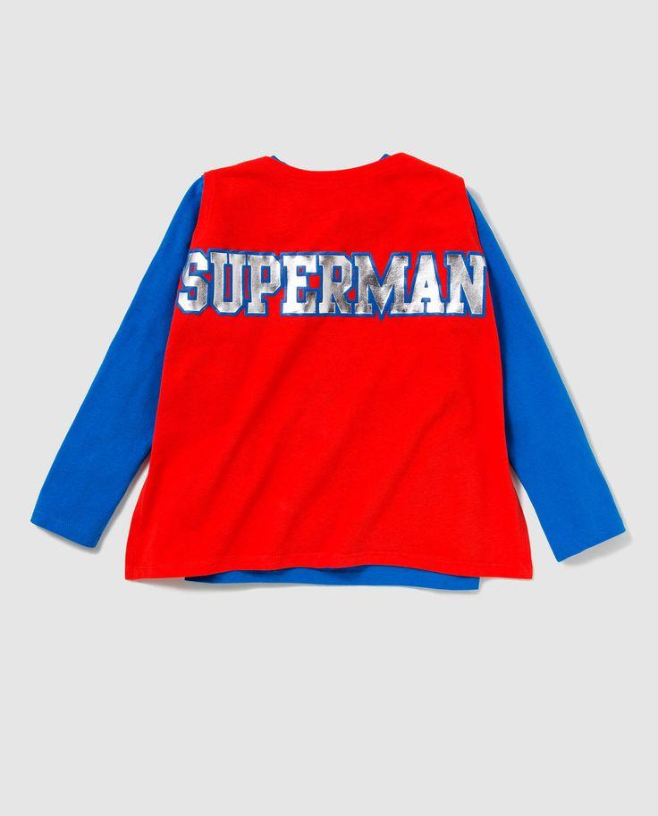 Superman caped tee