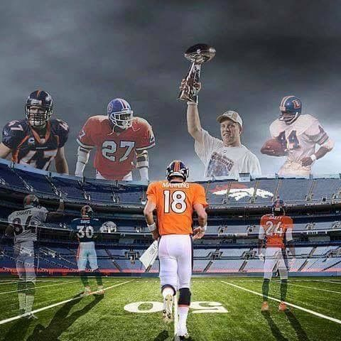 Denver Bronco legends