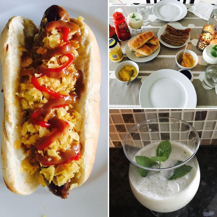 Hotdogs night: Colombian style