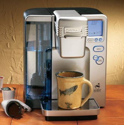 Cuisinart K Cup Coffee Maker How To Descale : 17 Best images about coffee machine on Pinterest Bunn coffee makers, Coffee maker and Best coffee