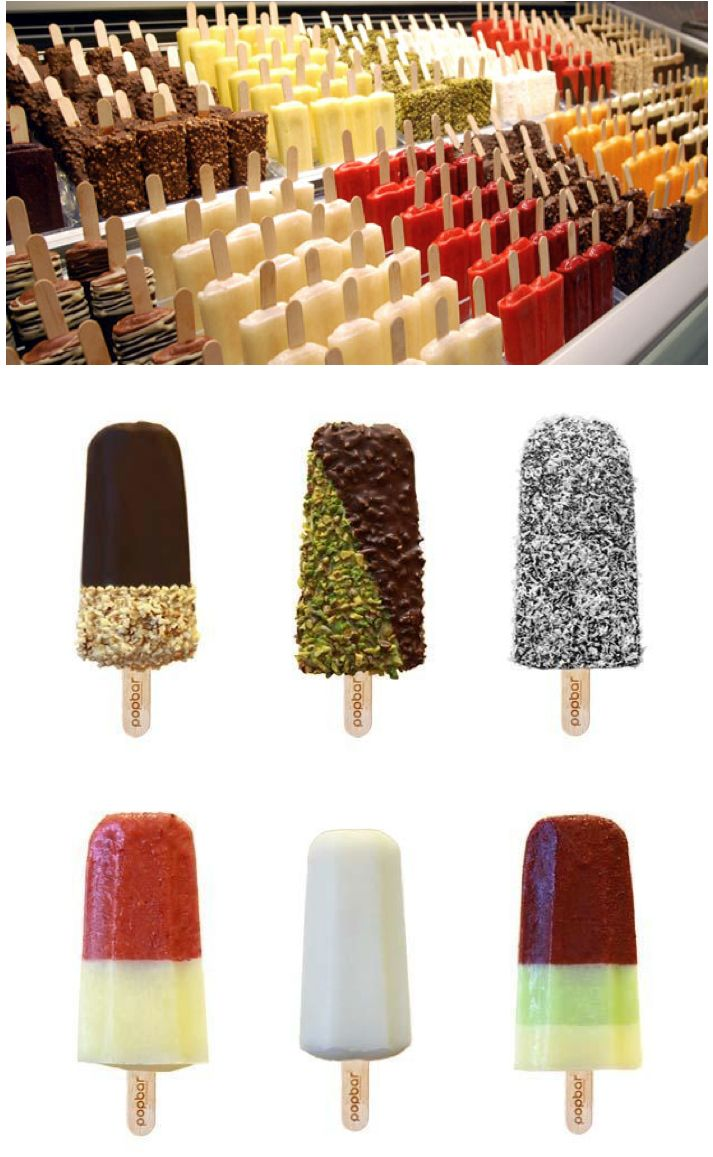 Metrotown's Popbar. What could be bad about gelato on a stick?