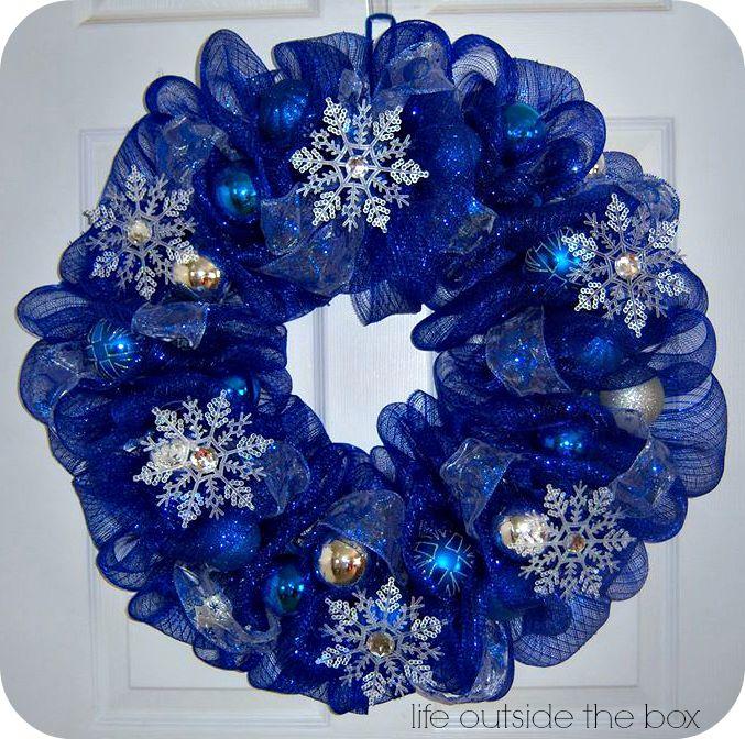 Deco Mesh Wreath!
