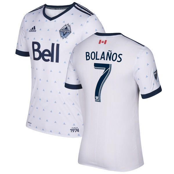 Christian Bolanos Vancouver Whitecaps FC adidas 2017 Primary Authentic Jersey - White - $149.99