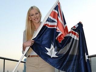 Lauren Jackson, Australian basketballer and Olympic flag bearer