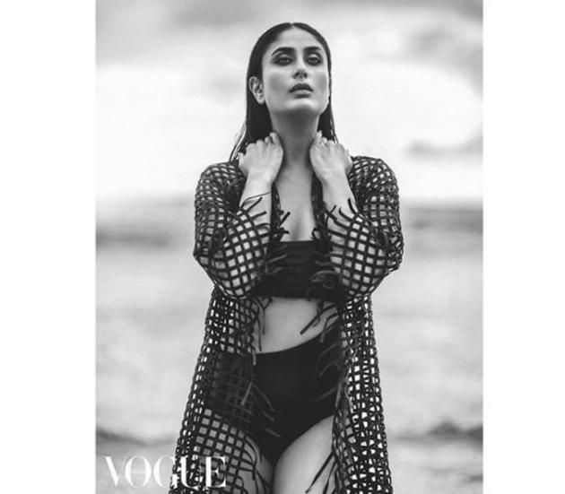 To kick off the new year, Kareena Kapoor covers Vogue India's January 2018 issue. She reinvents herself for her first magazine spread since son Taimur Ali Khan's birth in 2016, and, somewhat unsurprisingly, looks absolutely breathtaking. Scroll through to see some of her best shots.