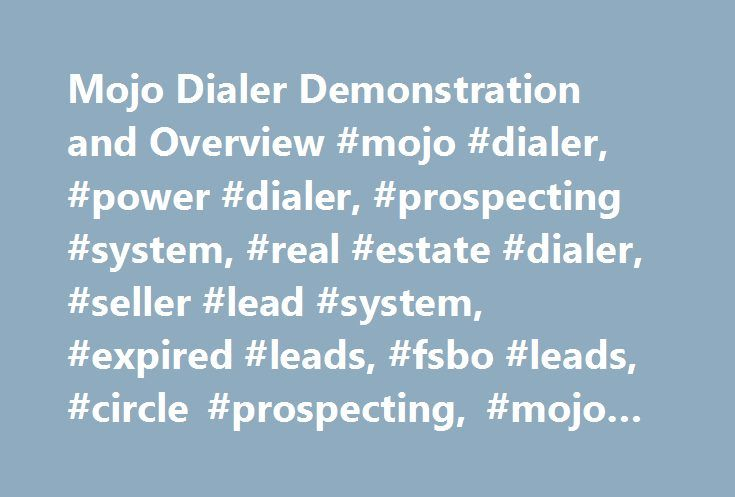 Mojo Dialer Demonstration and Overview #mojo #dialer, #power #dialer, #prospecting #system, #real #estate #dialer, #seller #lead #system, #expired #leads, #fsbo #leads, #circle #prospecting, #mojo #sells http://san-francisco.nef2.com/mojo-dialer-demonstration-and-overview-mojo-dialer-power-dialer-prospecting-system-real-estate-dialer-seller-lead-system-expired-leads-fsbo-leads-circle-prospecting-mojo-se/  # Это видео недоступно. Mojo Dialer Demonstration and Overview Опубликовано: 15 июн…