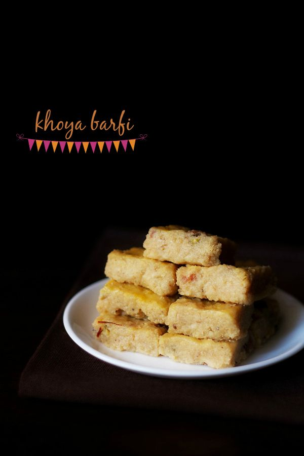 barfi recipe with step by step photos. really easy and quick basic recipe of barfi made with khoya or mawa. can be adapted to make different kinds of barfi.