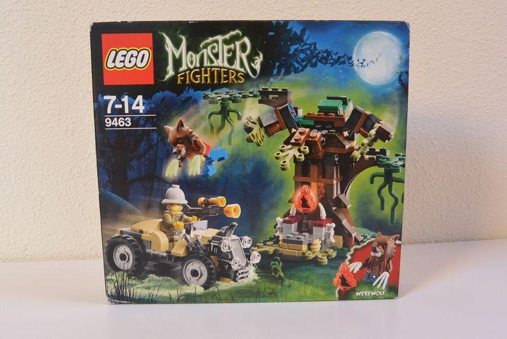 Set de lego monster figthers hombre lobo 9463 legos pinterest hombres lobo legos y ofertas - Casa de olivia lego friends el corte ingles ...