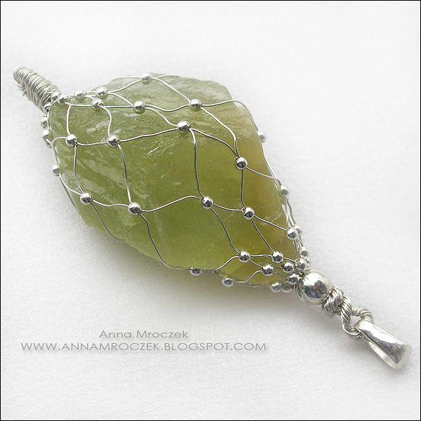 Anna Mroczek - Exclusive Jewelry: Wire-wrapping