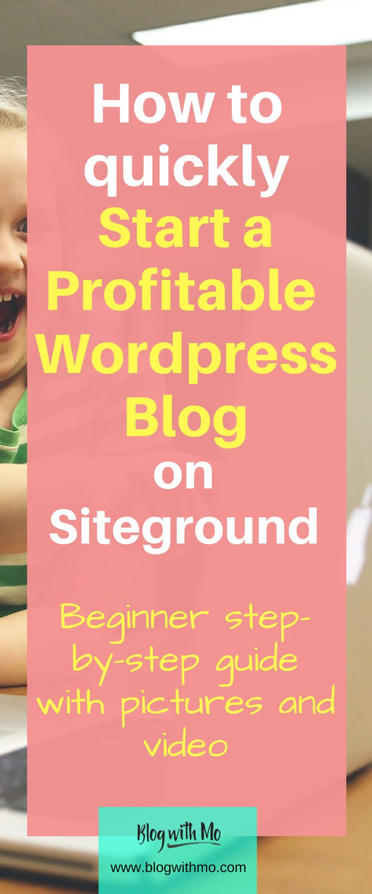 How to start a WordPress blog on Siteground. Beginner step-by-step guide with pictures and a video if you prefer on starting your money-making profitable blog on WordPress using Siteground as a host. I give my honest review of Siteground as well. I've been with them over 7 years.