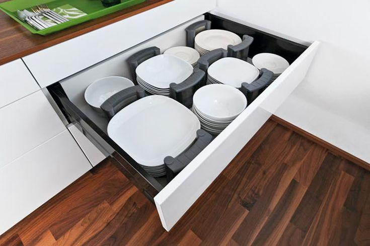 Blum bordenhouders Orgalux - Product in beeld - - Startpagina voor keuken ideeën | UW-keuken.nl