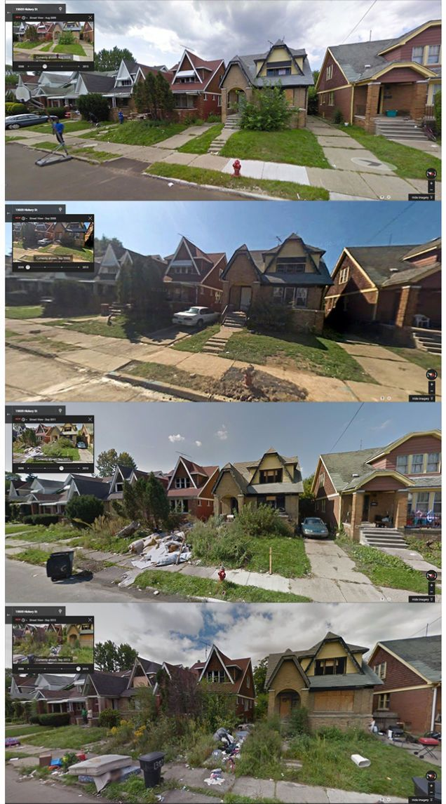 Tracking Detroit's Decay Through Google Street View | To ...