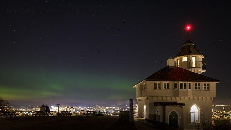 Northern Lights over Stavanger - Northern Lights over Stavanger