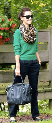Interesting Style Ideas - Many Ways to Wear animal print or a navy blazer for example, so one will probably work for you. Go Chic or Go Home ;)