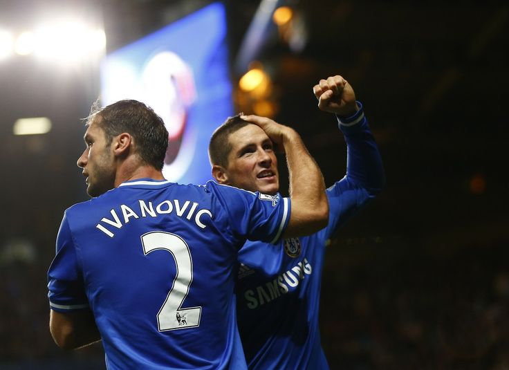 Ivanovic And Torres Chelsea 2 1 Manchester City Premier League Sunday October 27Chelsea