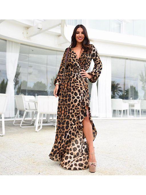 9fa01959481d Vestido-Longo-Onca   roupas de inverno em 2019   Roupas femininas ...