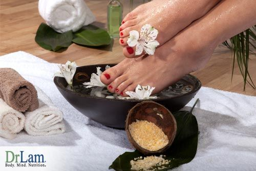 A Magnesium footbath is an alternative to cortisol supplements