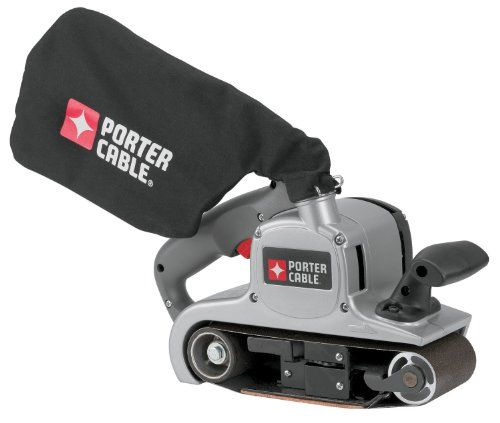 PORTER-CABLE 352VS 8 Amp 3-Inch-by-21-Inch Variable-Speed Belt Sander with Cloth Dust Bag #DIY
