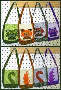Heads or Tails Handbag Pattern by Helene Knott