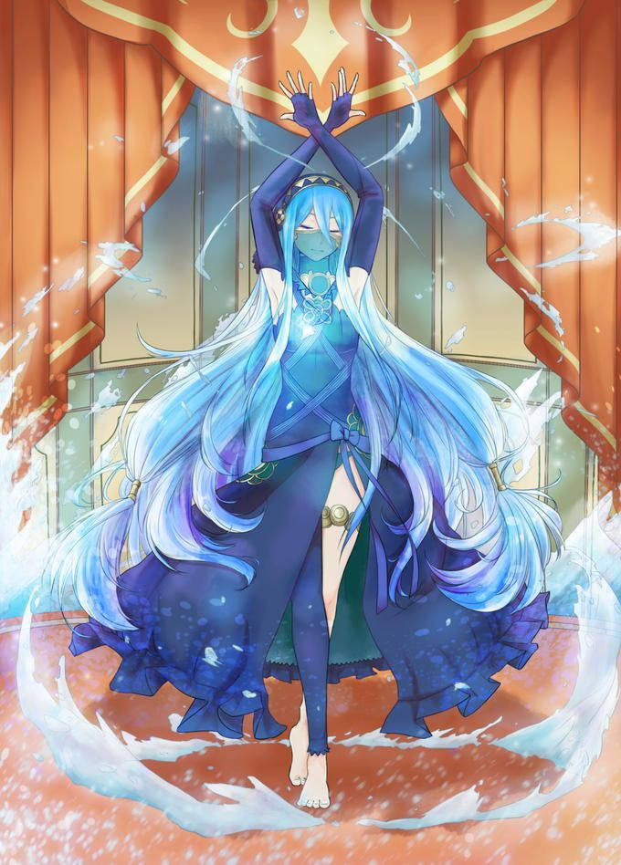 Aqua/Azura - Fire Emblem: If/Fates.