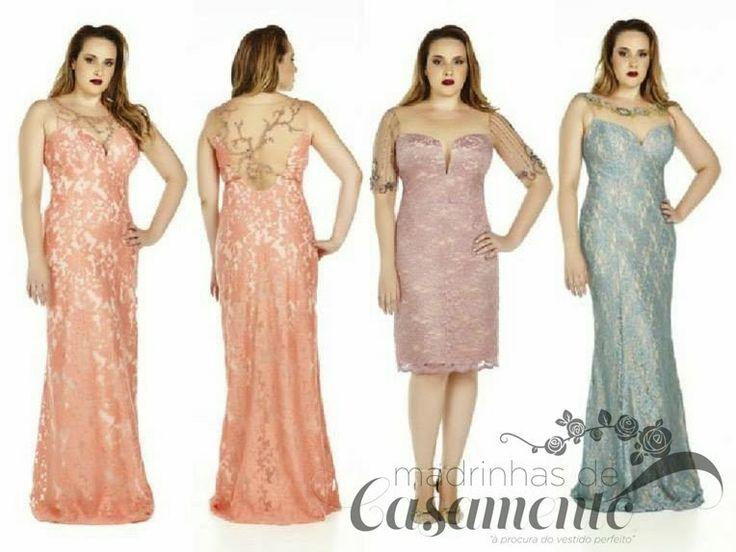 Madrinhas de casamento: Vestidos de festa para mulheres reais