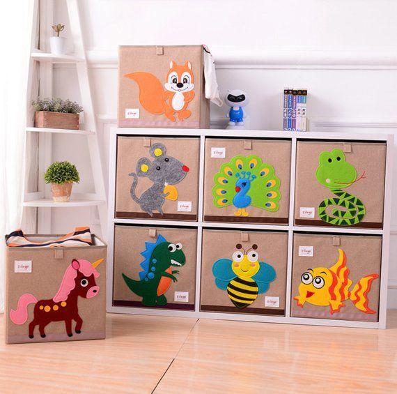 Toys Organizer Playroom Decor Children Clothes Organizer Etsy In 2020 Creative Toy Storage Toy Storage Toy Organization