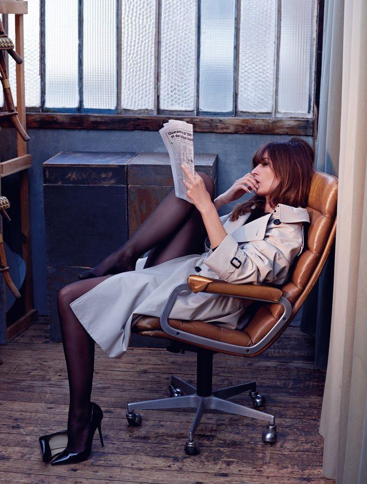 carolinedemaigret:New D Magazine @Drepubblicait  Photo @soniasieff Styled by @milvagigli Hair @carolinebufalini Make-up @carolecolombani Nails @lorandymua