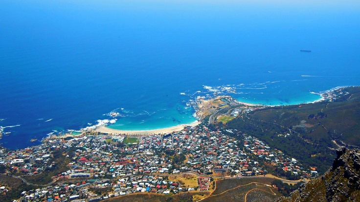 Camps Bay - As seen from Table Mountain