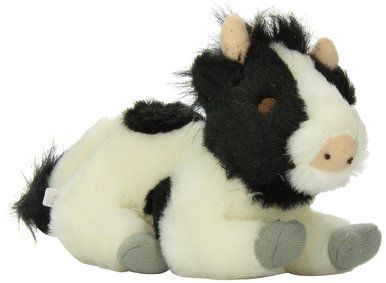 Multipet Look Who's Talking Plush Filled Cow 7-Inch Dog Toy