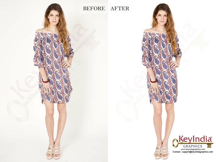 Model Photo Retouching by KeyIndia Graphics