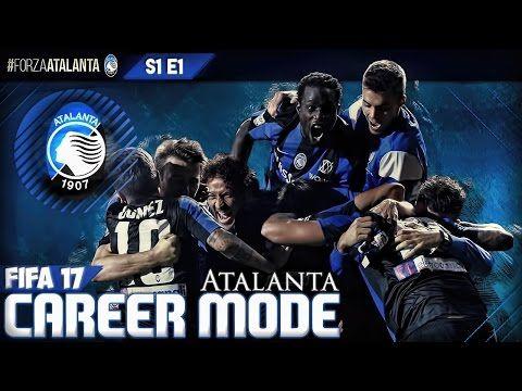 FIFA 17 | Atalanta Career Mode S1 E1 - MANUAL CAREER MODE!