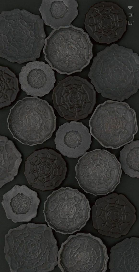 black ceramics utsuwa kenchin Micro Trend: Black Ceramics by http://eclectictrends.com