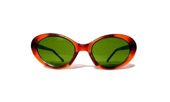 Vintage Cat Eye Glasses Amber Cat Eye Sunglasses 80s by sunnyspex, $25.00