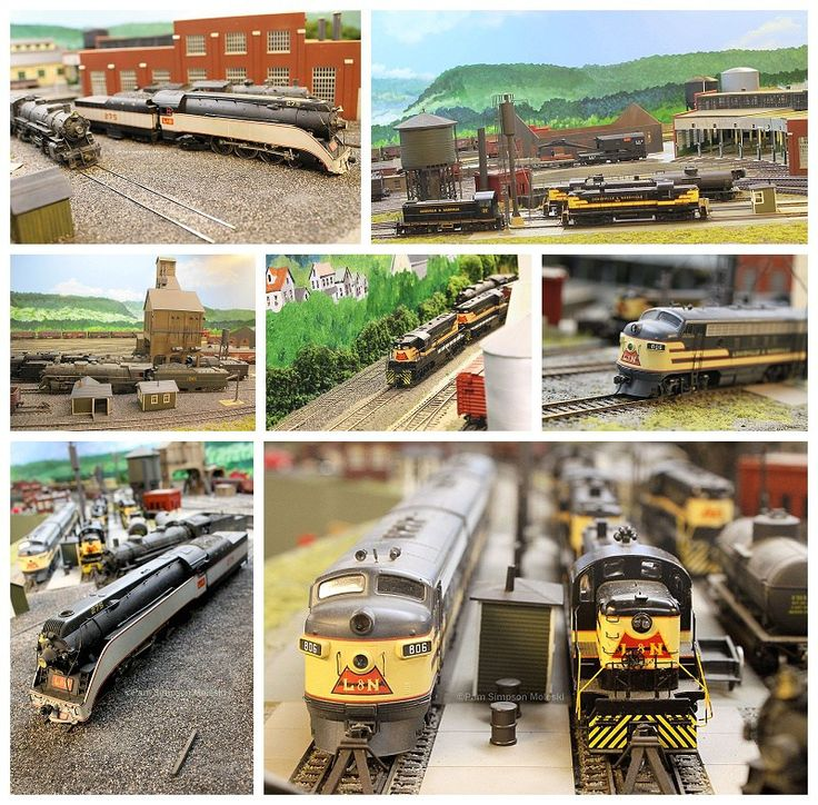 Fabulous models of Louisville & Nashville RailRoad