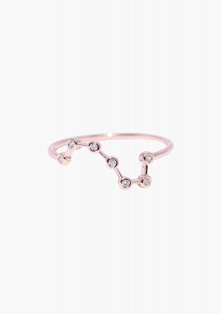 constellation ring in Gold | Necessary Clothing