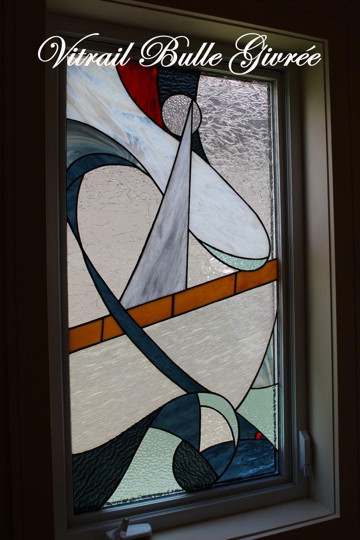 43 best vitrail images on pinterest for Decoration fenetre vitrail