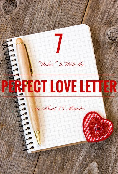 25 Best Ideas About Romantic Love Letters On Pinterest